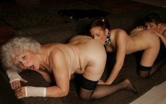2 Old \'N 1 Young Lez Play