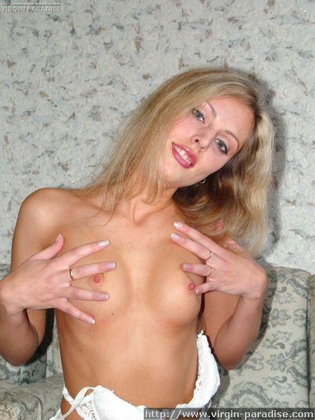 Innocent virgin gets naked - N