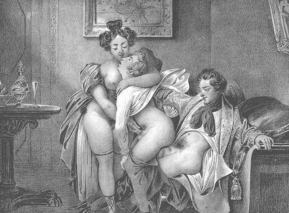Порно старые фото 18 век