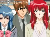 Sexy redhead anime babe gets tiny snatch part4
