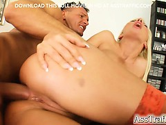 helena's tight booty get a penis directly in it. she gets butt xxx porno