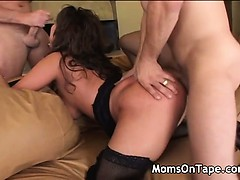 Hot local mom pounding her brains out