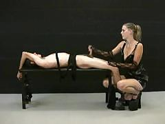 blonde-mistress-jerks-off-her-tied-up-slave-and-demands-for