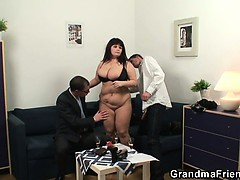 huge-titted-bitch-takes-two-cocks-after-photosession