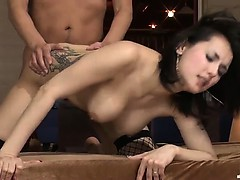 Maria Ozawa and her two lovers fucking like mad rabbits