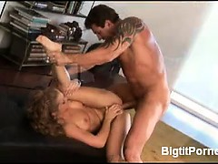 Big tits on a hot blonde are something that no guy in their