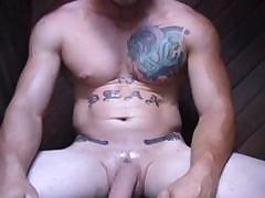 straight-tattooed-biker-dirty-talk-jack-off