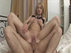 Blonde Sweetheart Gets An Anal Creampie