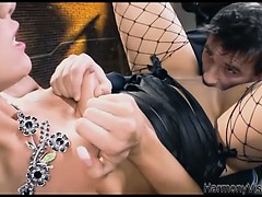 alluring-brunette-seducing-and-eaten-by-her-man
