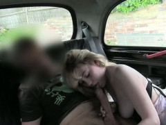 Hairy Slut Nailed And Jizzed On By Pervert Driver In A Cab