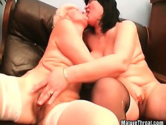They Love Pussy Licking, But The Best Way Is With Hairy Old