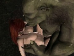 3d-redhead-elf-gets-fucked-in-the-woods-by-an-orc