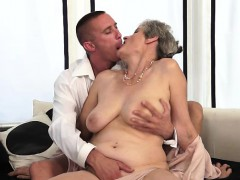 hot granny and her new younger lover granny sex movies
