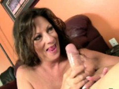 busty-cougar-mom-jerking-his-dong