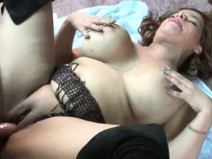Busty Latina Milf Angel Lynn Is Getting Fucked By A Geek