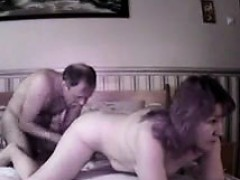 Amateur Russian Couple