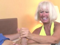 handjob loving granny tugging hard penis granny sex movies