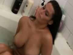 hot-busty-neighbor-filmed-naked-in-the-bathtub