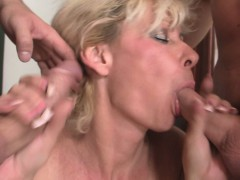 horny-blonde-granny-double-penetration