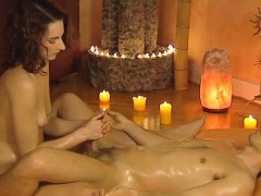 Erotic Handjob Massage From Asia