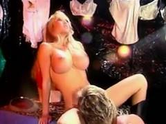 Busty Blonde Slut Having Sex Classic