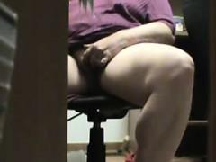 mum-caught-masturbating-under-the-desk