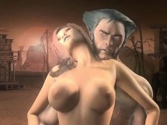 Wolverine Gets Into A Sticky Situation Amazing 3d Hentai