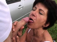 car troubled granny pays dues by getting fuck granny sex movies