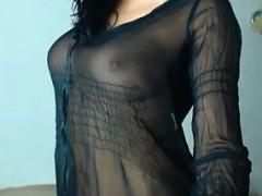 Hot Dance Sexy Brunette Teen