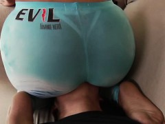big-ass-booty-babe-getting-rimjob