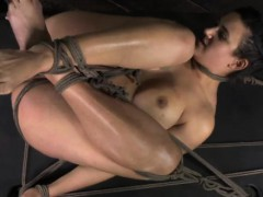 bound-sub-gets-caned-and-dildofucked