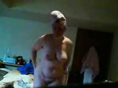 granny-janine-spied-in-her-bedroom