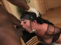 Interracial Bondage With Big Tit Sophie Dee