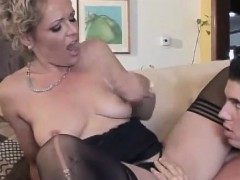 Guy Is Going To Fuck A Blonde Horny Milf