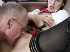 stockings-milf-in-threeway-facialized-by-old-guys