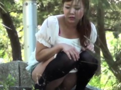Japanese Slut Public Piss