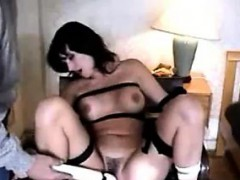 Bound MILF Being Massaged By A Wand