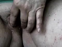 horny-arab-girl-using-a-banana-up-close