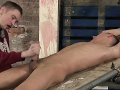 Ashton Uses His New Sex Toy Device On A Big Uncut Hard Cock
