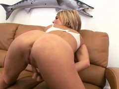 Blondie gets pounded from behind