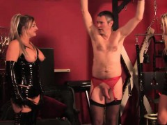 latex-flogging-action-with-three-brit-femdoms