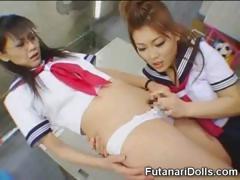 Little Futanari Schoolgirl!