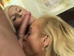 milf with monster tits teaches tight slut how to fuck