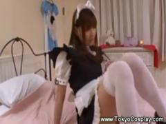 horny-asians-uses-dildo-on-herself