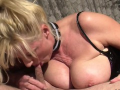 German Monster Natural Tits Milf Seduce To Fuck In Lingerie