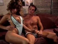 Veronica Hall, Derek Lane in bikini girl gets intimate with
