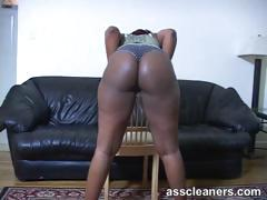 monster bouncy ebony butt cheeks longs for a lick