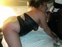 Halloween Interracial Soiree With Sexy MILF