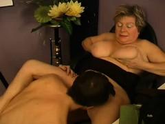 Lesson Sex With Russian Granny Teacher