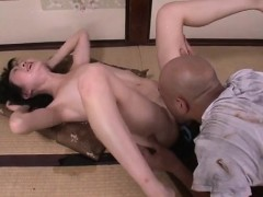 Aoba Itou horny milf enjoys strong cock pounding her holes